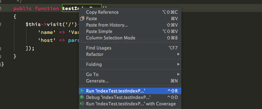 Run Tests From Your IDE